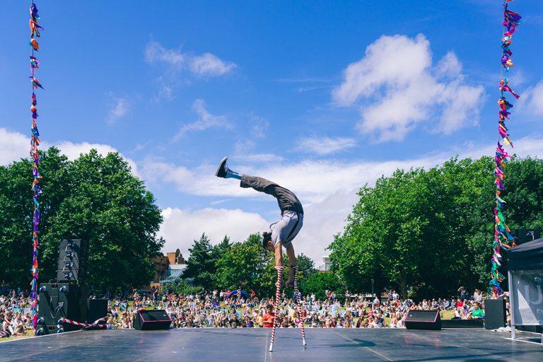 Bristol Harbour Festival 2017: Cirque Bijou in Castle Park