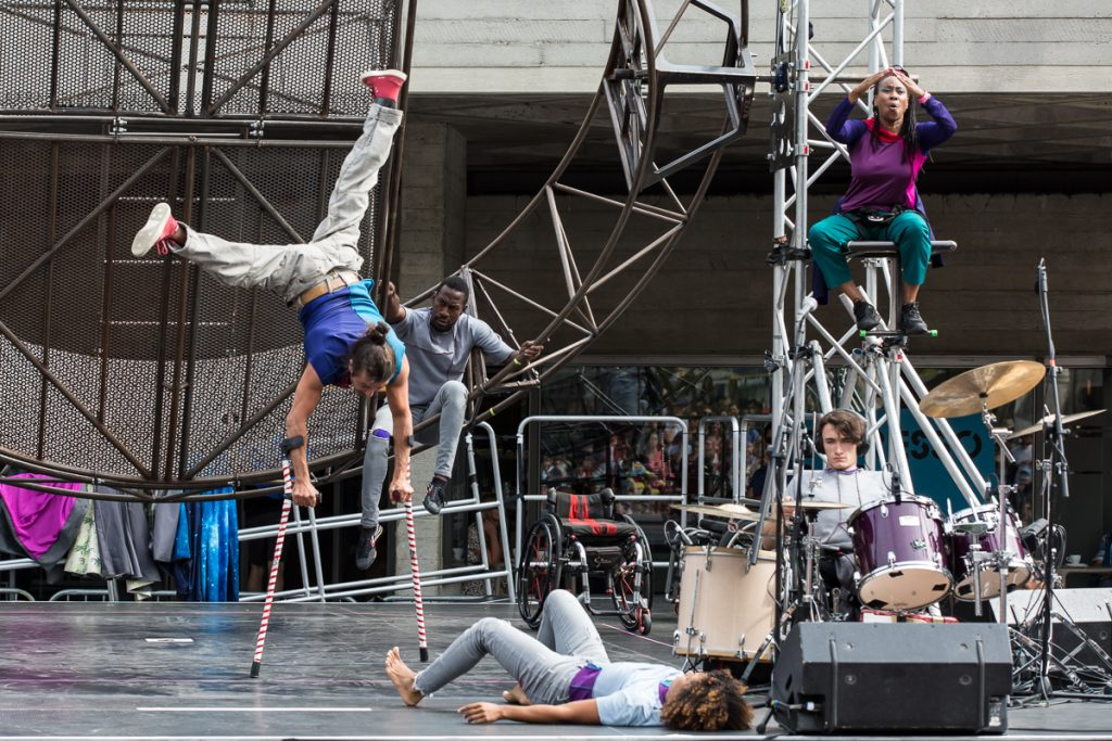 Extraordinary Bodies What Am I Worth @ National Theatre River Stage, photo Rob Harris