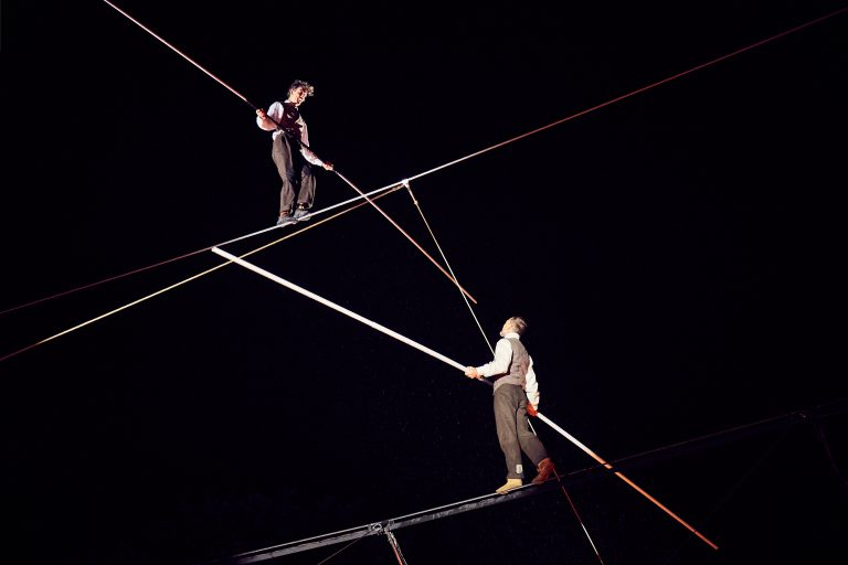 New: A poetic ethereal highwire show