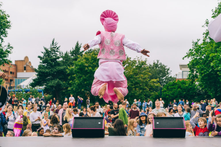 Circus Playground at Bristol Harbour Festival, 20th & 21st July 2019
